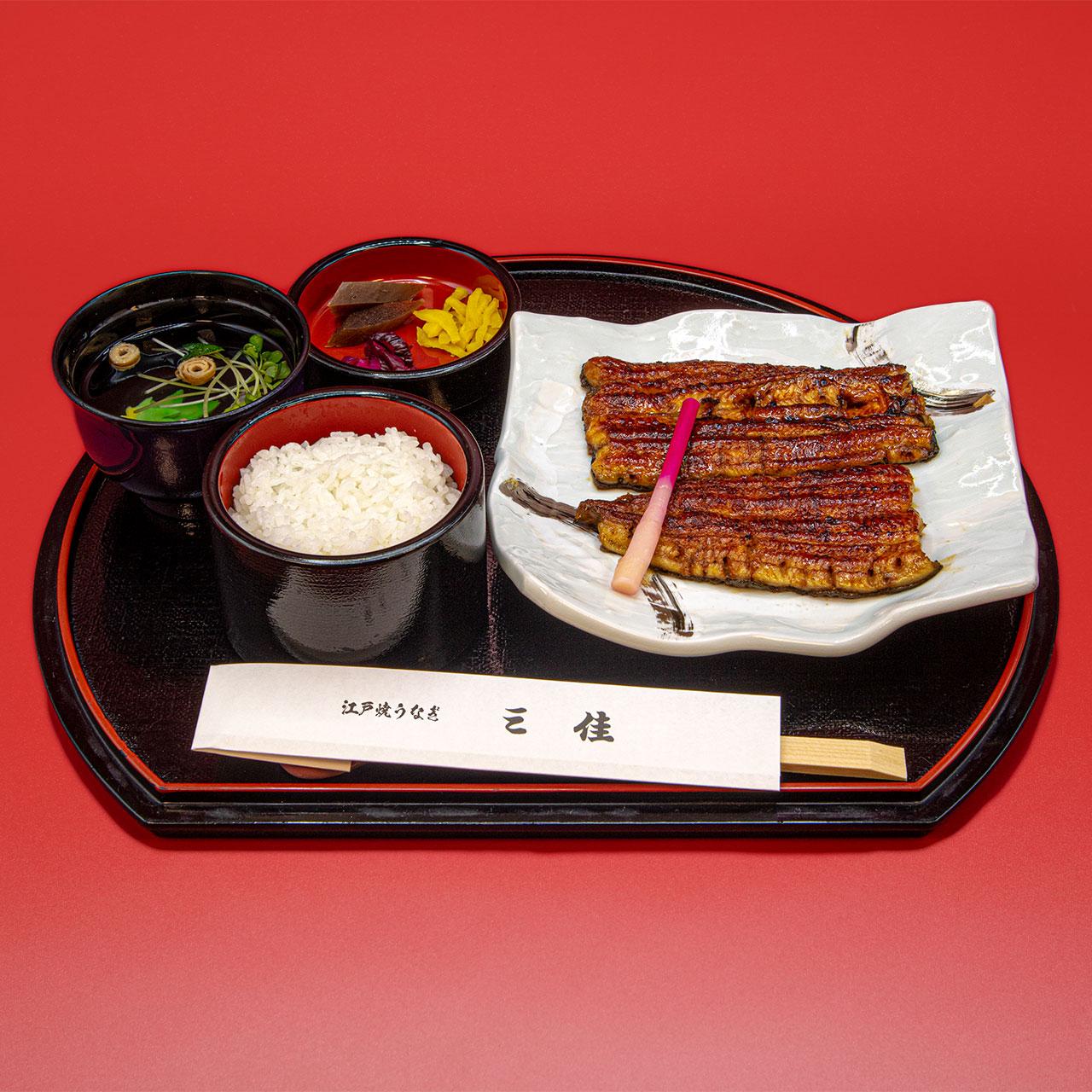 かば焼フルサイズ(ご飯・きも吸付)4,600円