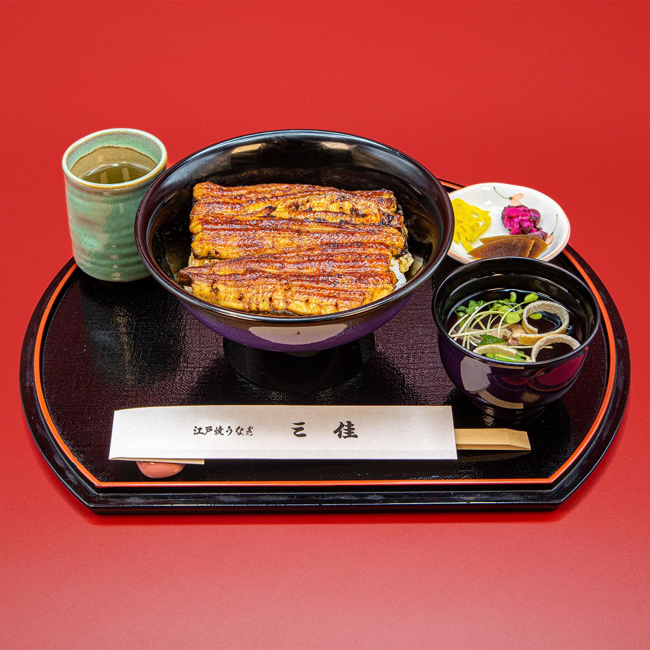 うなぎ丼フル(きも吸付)4,600円