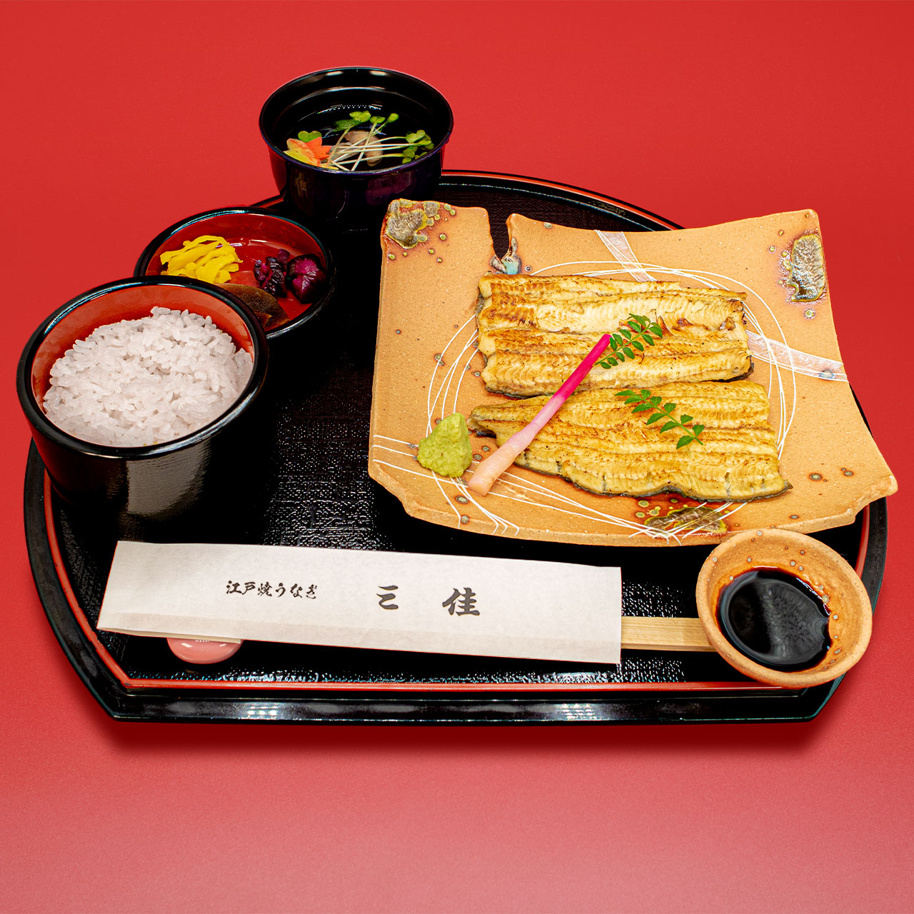 白焼うなぎフルサイズ(ご飯・きも吸付)4,600円