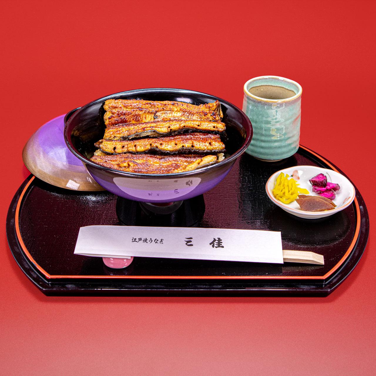うなぎ丼メガ 6,000円